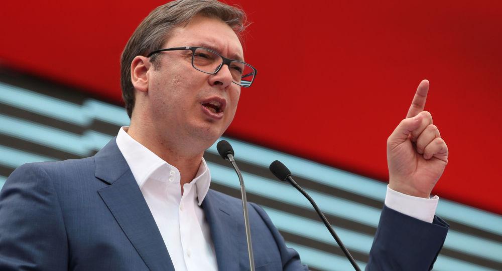 武契奇:塞尔维亚可以信赖普京