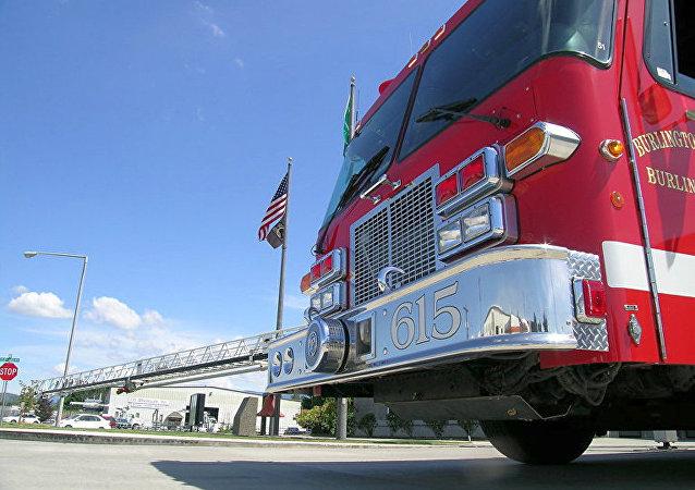 美国消防车