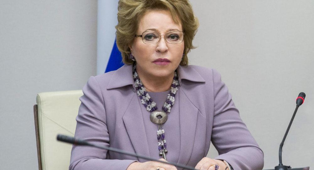 俄罗斯联邦委员会主席瓦莲金娜·马特维延科