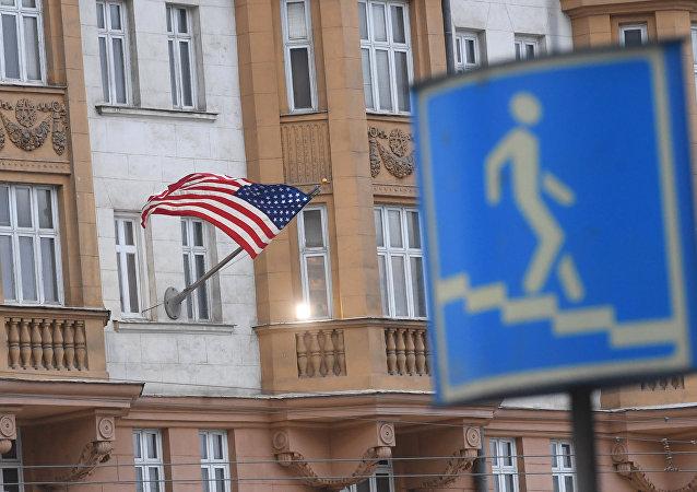 美国驻莫斯科使馆