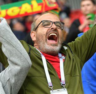 葡萄牙國家足球隊用俄語致感謝詞