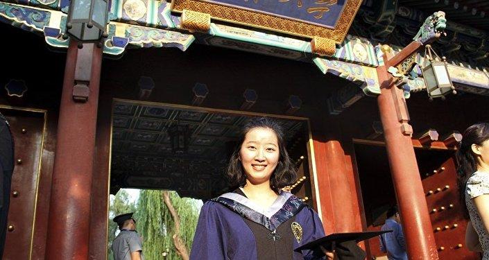 在美國伊利諾伊州失蹤的中國學者章瑩穎