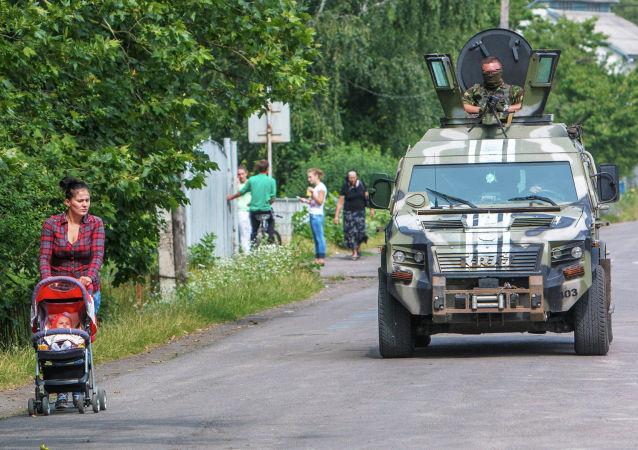 顿涅茨克人民共和国称民兵与乌安全局汽车在顿巴斯被破坏无关