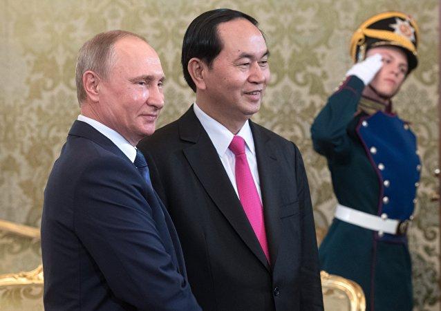 越南国家主席邀请俄总统对越进行正式回访