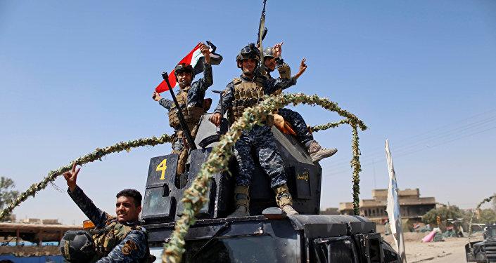 """伊拉克军队已靠近""""伊斯兰国""""在该国的最后据点"""