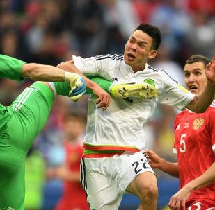 守門員阿金費耶夫被俄羅斯人稱為聯合會杯俄國家隊最佳球員