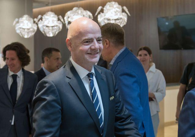 國際足聯主席感謝俄羅斯成功舉辦本屆聯合會杯