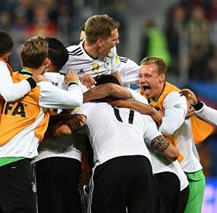 聯合會杯決賽德國隊戰勝智利隊奪冠