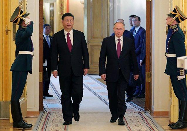 克宫:俄中两国领导人讨论了朝鲜局势