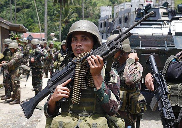 美国防部:菲律宾采购俄武器可能危害与美国的合作