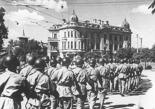 俄國防部解密34份蘇中聯合抗日文件