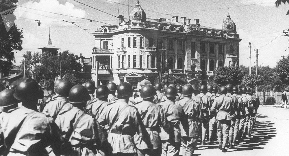 俄公布一系列苏联红军在满洲战略攻势行动期间的文件