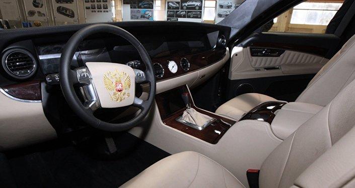 克宮:普京滿意「車隊」項目的新汽車