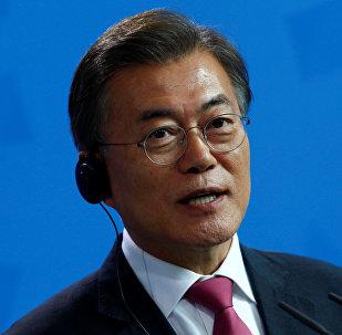 韩国总统因韩朝首脑会谈不会减弱对朝制裁
