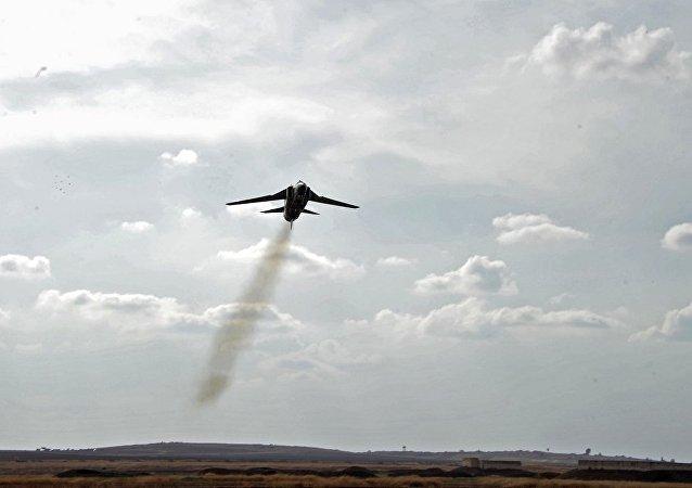 俄空天军战斗机一周8次拦截俄边境侦察机