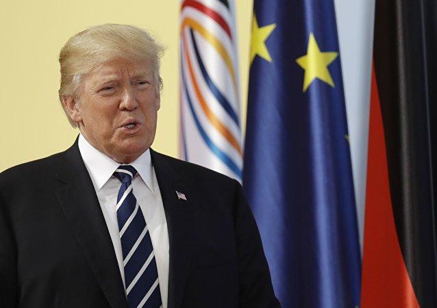 特朗普稱G20漢堡峰會首日非常棒