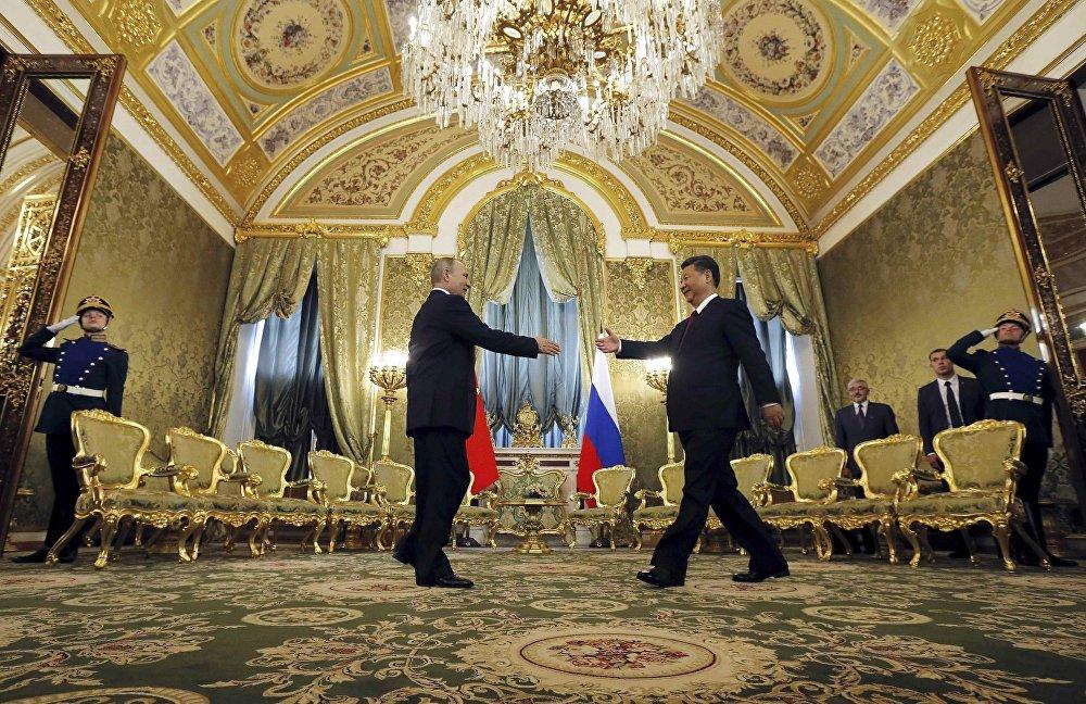 習近平主席這次對俄羅斯進行國事訪問是今年來第3次出訪