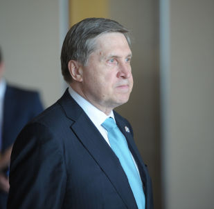 """俄总统助理乌沙科夫表示,解决朝鲜半岛问题的俄中""""双暂停""""方案工作没有中断"""