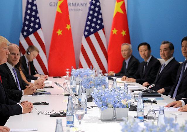 美中两国领导人达成共识,将在朝鲜半岛问题核问题上进行协作