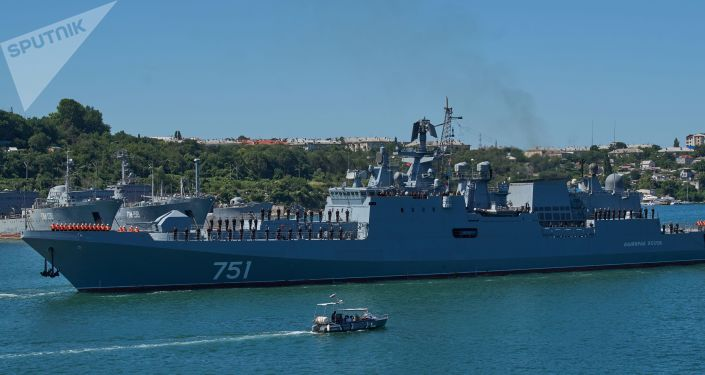 """黑海舰队""""埃森海军上将""""号护卫舰"""