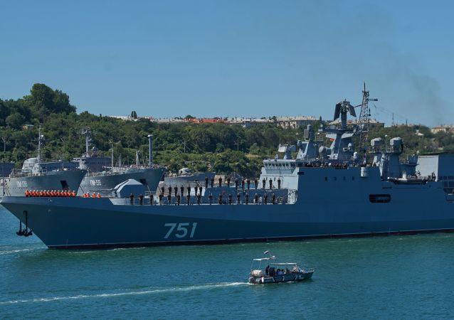 「埃森海軍上將」號護衛艦已前往敘利亞