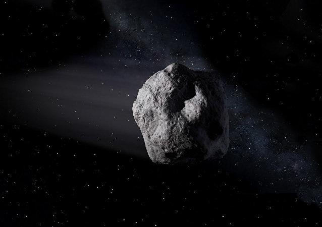 """日本两台着陆器登陆小行星""""龙宫"""""""
