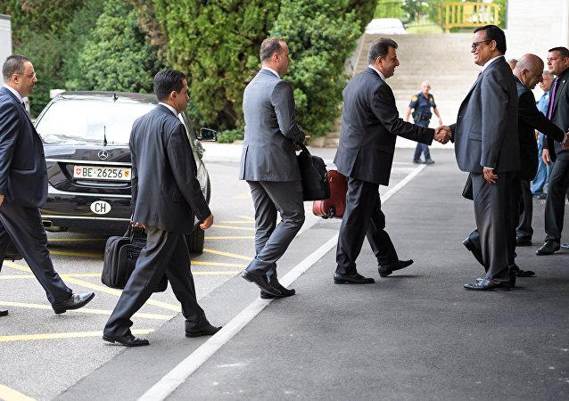 叙政府代表团