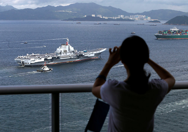 遼寧艦為何要穿越台灣海峽?
