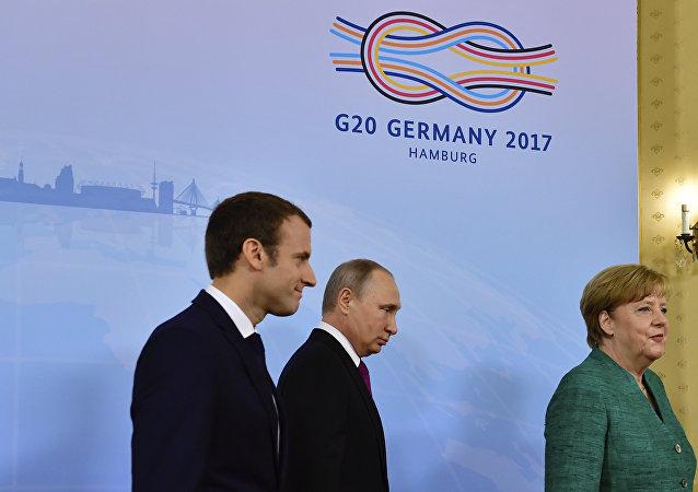 德俄法在G20峰會期間僅討論過烏克蘭問題