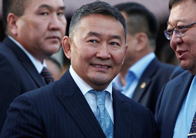 蒙古新總統巴特圖勒嘎
