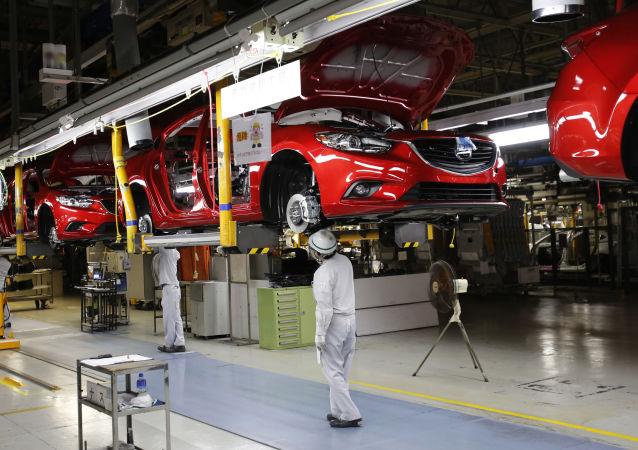 新款马自达6开始在俄符拉迪沃斯托克马自达-索莱尔汽车厂批量生产