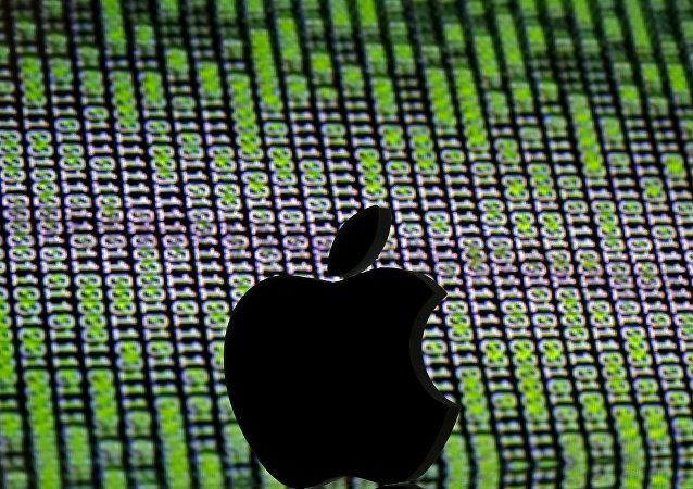 3D苹果公司标志