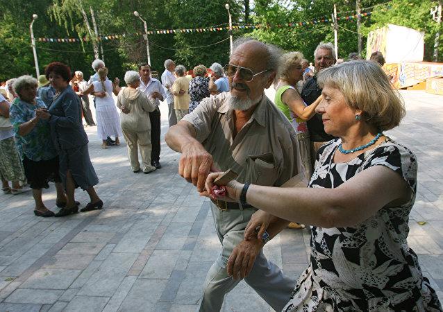 俄罗斯长寿人口数量增加