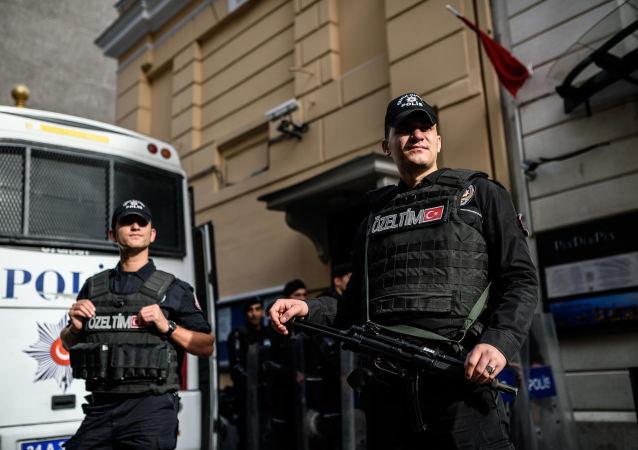 """媒体:伊斯坦布尔警方抓捕40多名涉嫌与""""伊斯兰国""""有联系的外籍人士"""