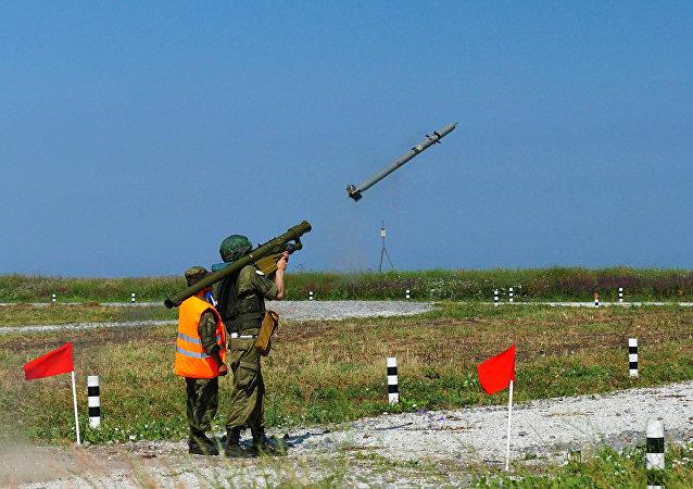 """""""针""""式便携防空导弹系统"""