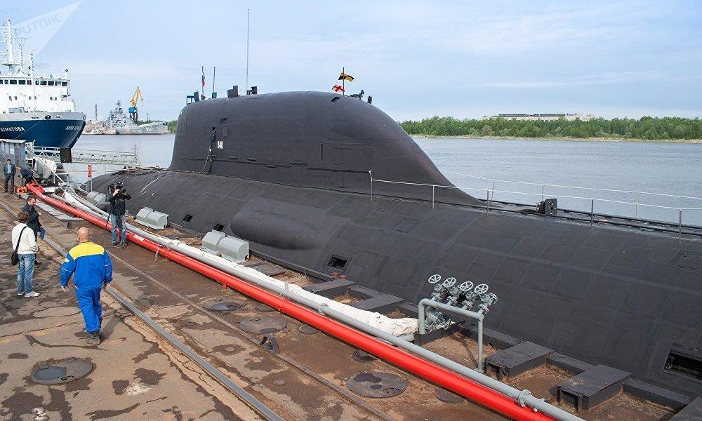 """""""梣树""""系列核动力导弹潜艇"""