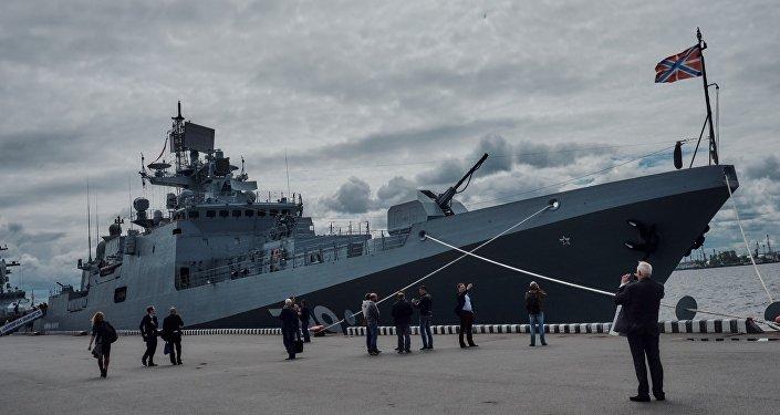"""俄罗斯海军21631型""""马卡罗夫海军上将""""号"""