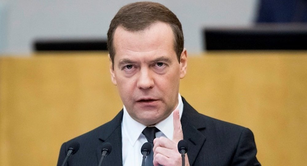 俄总理梅德韦杰夫德米特里