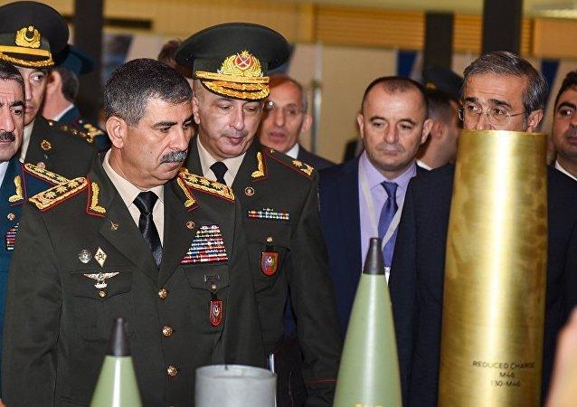 阿塞拜疆国防部长扎基尔·哈桑诺夫