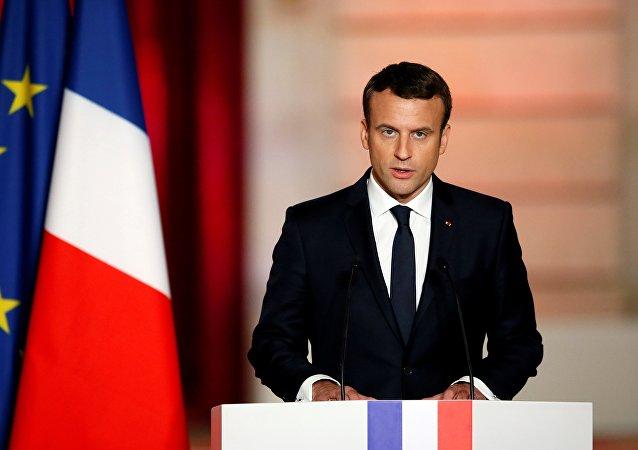 """法总统:法国赞成美国有关歼灭""""伊斯兰国""""后从叙撤兵的立场"""
