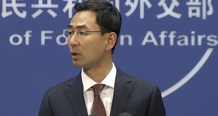 中國外交部新聞發言人耿爽