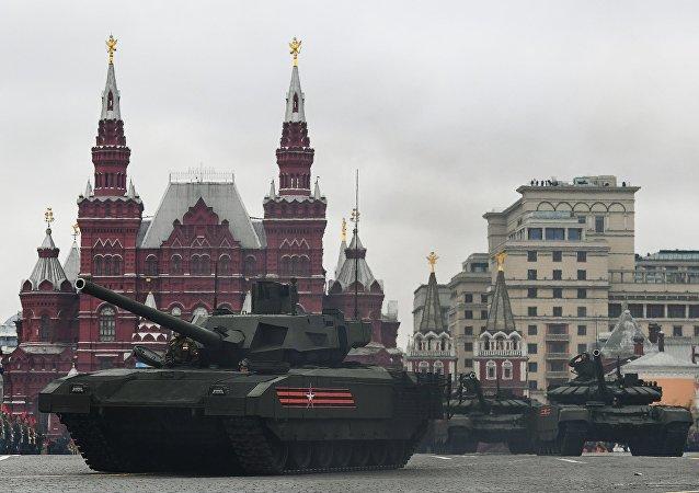 俄產前景T-14阿爾馬塔坦克