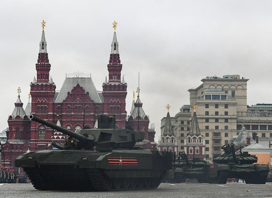 俄产前景T-14阿尔马塔坦克