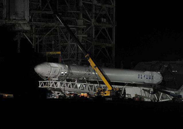 Space X's Falcon 9 火箭