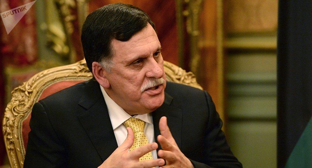 總部設在的黎波里的利比亞民族團結政府總理法伊茲·薩拉傑