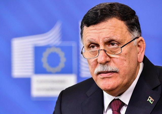 利比亞民族團結政府總理法伊茲·薩拉傑