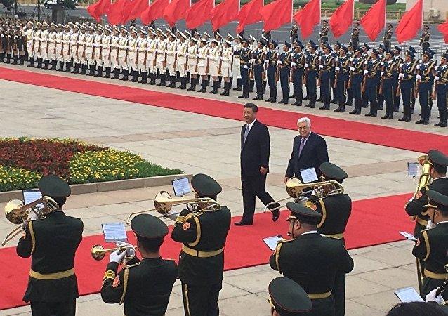 巴勒斯坦总统因耶路撒冷圣殿山局势中断对华访问