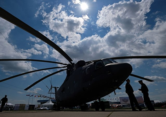 俄罗斯技术集团:为俄空天部队升级的米-26T2B重型直升机完成首飞
