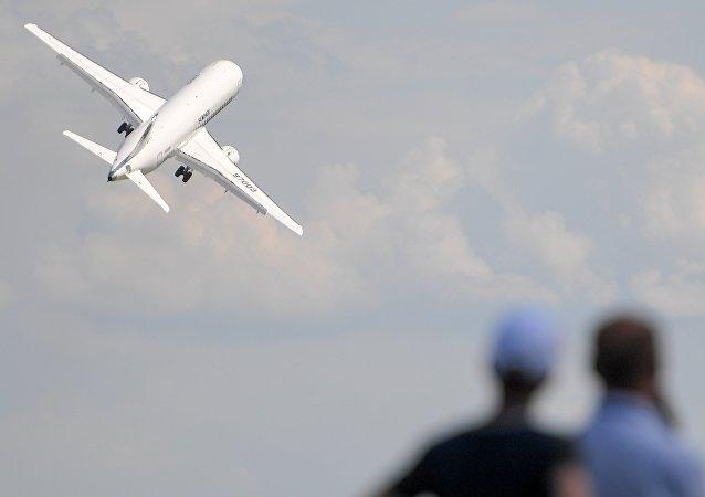 俄中两国企业拟签署联合生产轻型商用飞机的协议
