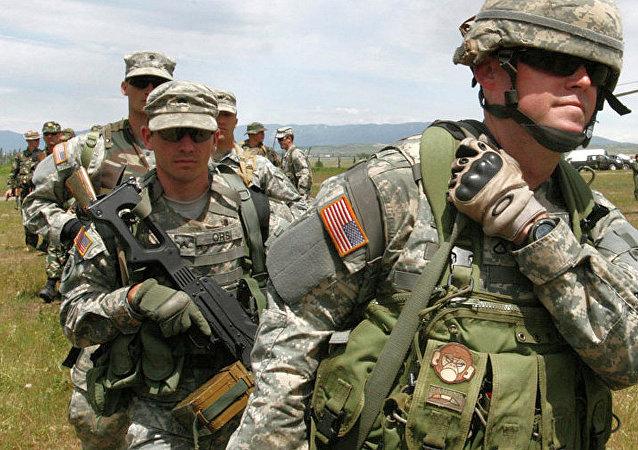 美国军事教官